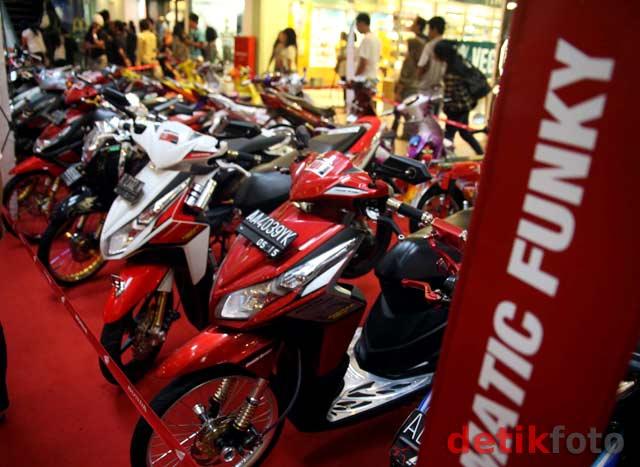 Kontes Modifikasi Motor Terbesar di Indonesia