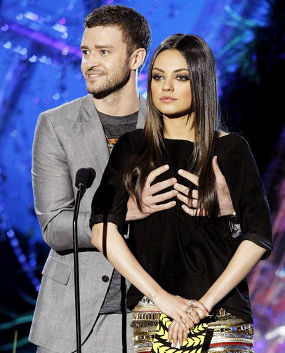 Foto Video Justin Timberlake Remas Dada Mila Kunis