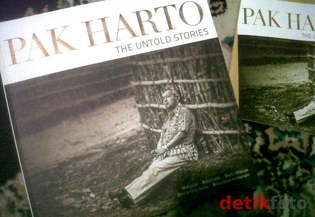 Buku Pak Harto The Untold Stories Diluncurkan
