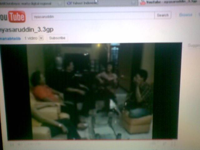 'Nyasaruddin', Video Kritik untuk Nazaruddin Beredar di Youtube