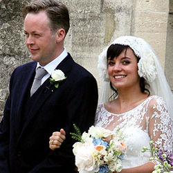 Lily Allen finally married to Sam Cooper