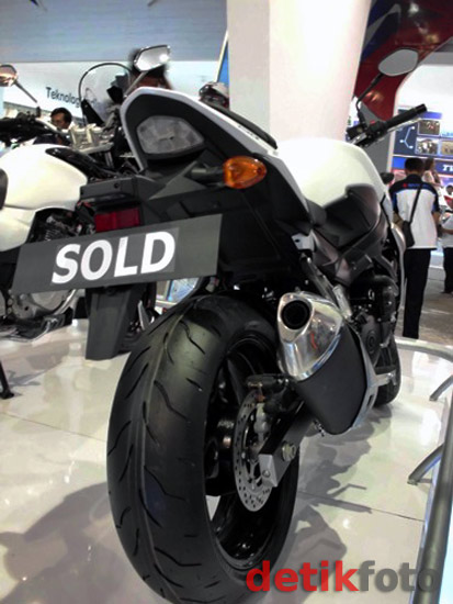 Suzuki GSR 750 Sold Out