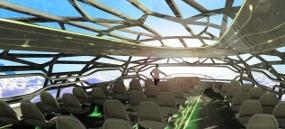 Airbus Akan Luncurkan Pesawat Transparan Tahun 2050