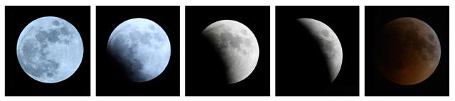 Fenomena Gerhana Bulan Total