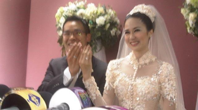 Foto Pernikahan Laura Basuki