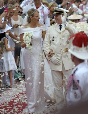 Pangeran Monaco Nikahi Perenang Afrika Selatan