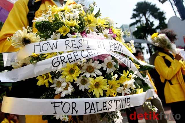 Aksi Pembebasan Kapal Kemanusiaan ke Gaza