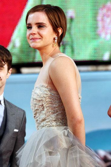 Harry Potter Tamat, Emma Watson Nangis