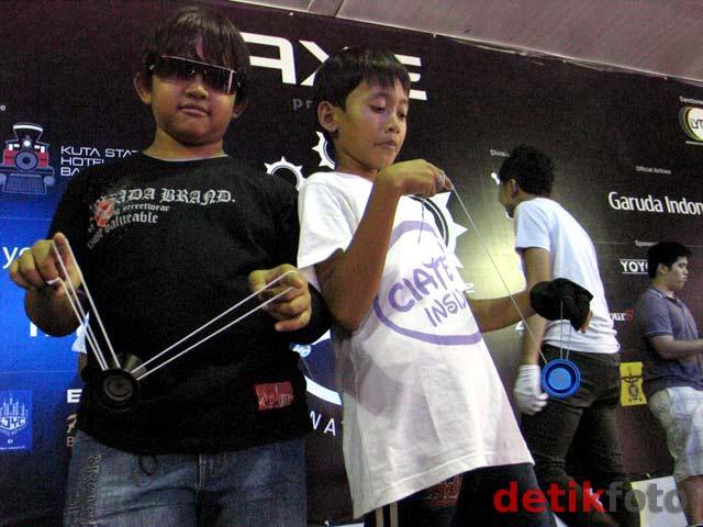 Pemain Cilik Ikuti Kompetisi Yoyo