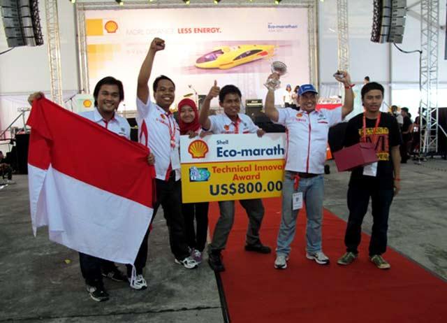 Mahasiswa Indonesia Berjaya di Lomba Irit BBM