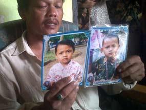 Tragis! 3 Anak Haeruddin Tewas Terlindas Kontainer