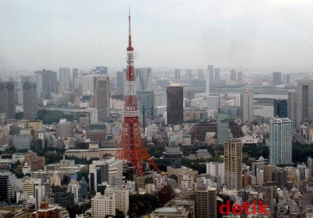 Tokyo dari Atas Langit