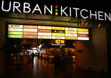 Urban Kitchen Food Court, 25 Hidangan di Satu Area