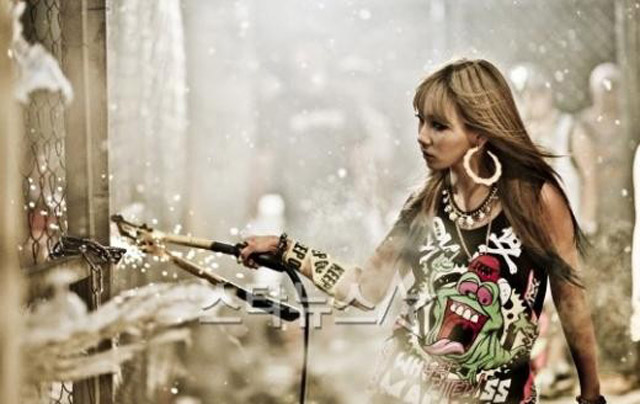 Hot Korea : Foto 2NE1 di Video Klip 'Ugly'