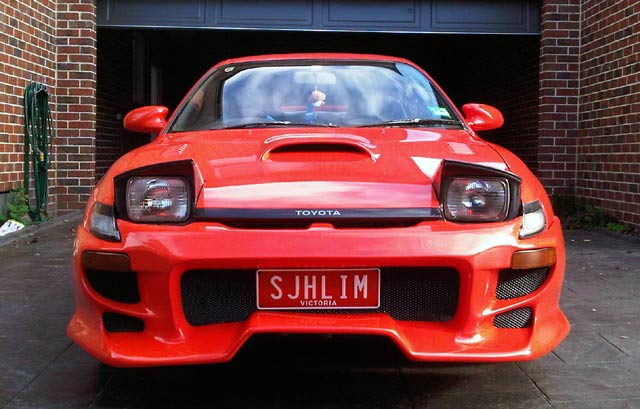Toyota Celica Karya Mahasiswa RI di Melbourne