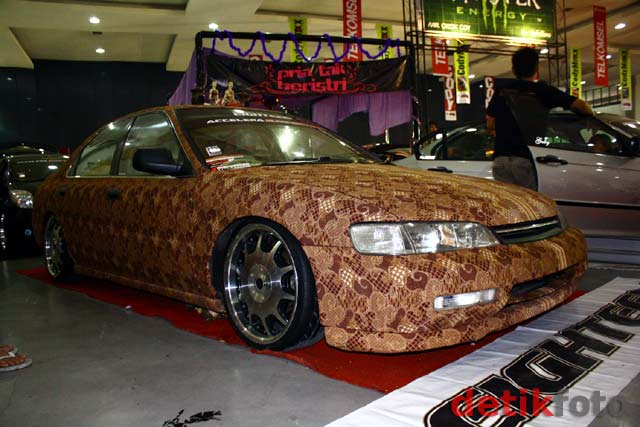 Honda Accord Berbalut Batik Projo