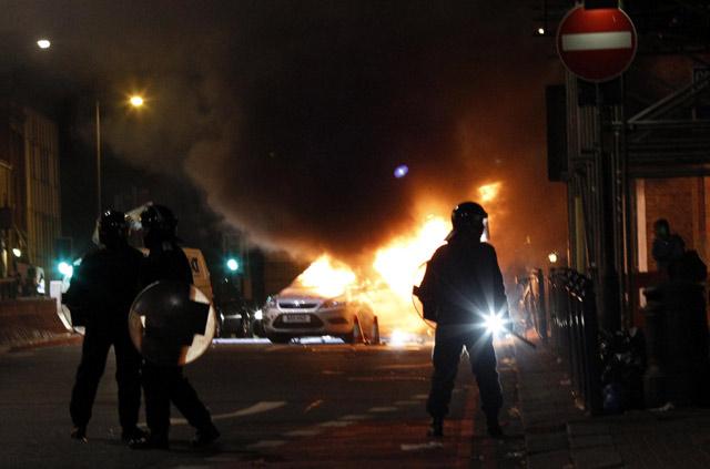 Kerusuhan Landa London