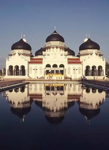 Foto Masjid Baiturrahman, Banda Aceh, Indonesia