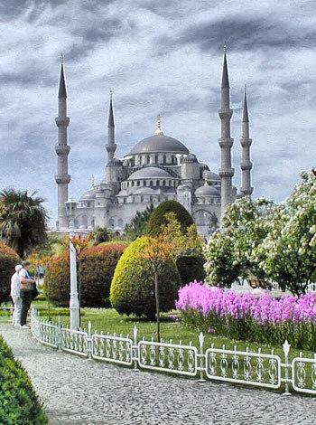 Masjid Sultan Ahmet, Turki