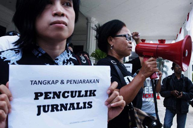 Aksi untuk Wartawan Korban Penculikan