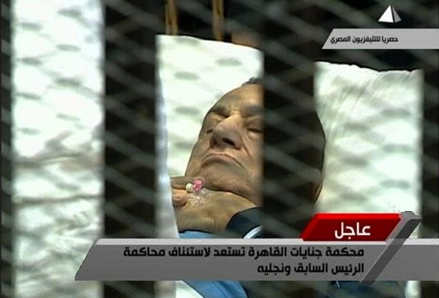 Mubarak Kembali Diadili