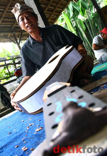 Gitar Ukir Bali yang Mendunia