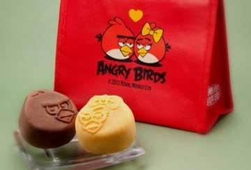 Nyam..Nyam...Angry Birds Mooncakes!