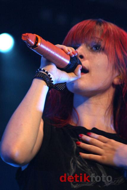 Hayley Williams di Jakarta