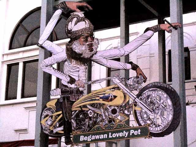 Pameran 'The Art Motorcycle: Tribute to Nur Kholis'