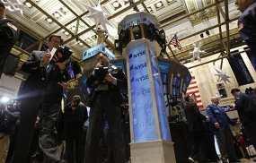Investor Tetap Waspada, Wall Street Rebound Tipis