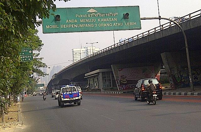 Jakarta Ditinggal Mudik