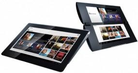 FOtO 2 TABLET SONY SIAP BERSAING DENGAN  iPAD ngin menantang dominasi iPad, Sony S dan P