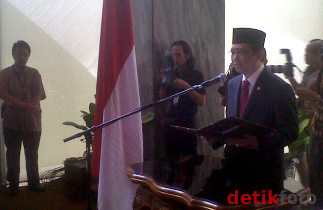 Pengganti Nazaruddin di DPR Dilantik