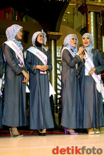 Para Finalis Muslimah Beauty 2011