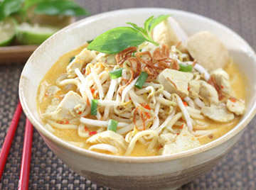 Mie Laksa Ayam - Indonesian Recipe
