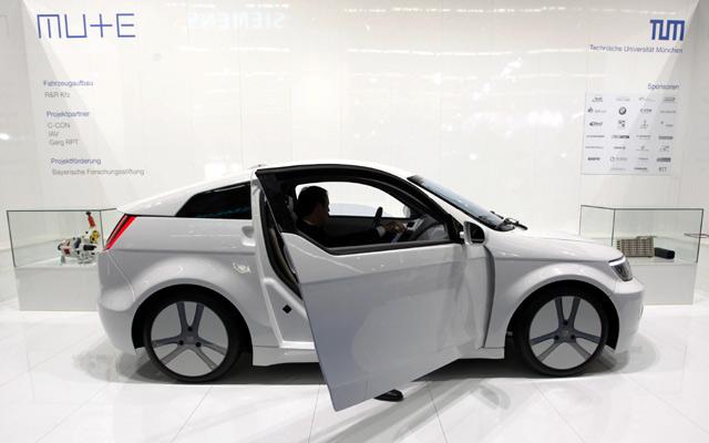 Mobil listrik ala Kampus