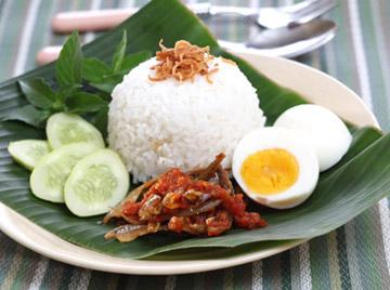 Nasi Lemak - Indonesian Recipe