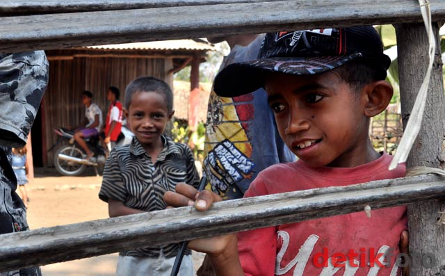 Kondisi Bocah Perbatasan RI-Timor Leste