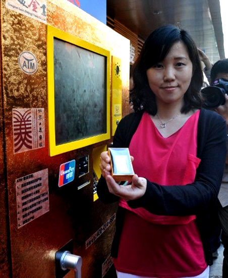 Ini dia 'ATM Emas' di China