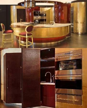 Wow, Ada Dapur Terbuat dari Emas Seharga Rp 4 M