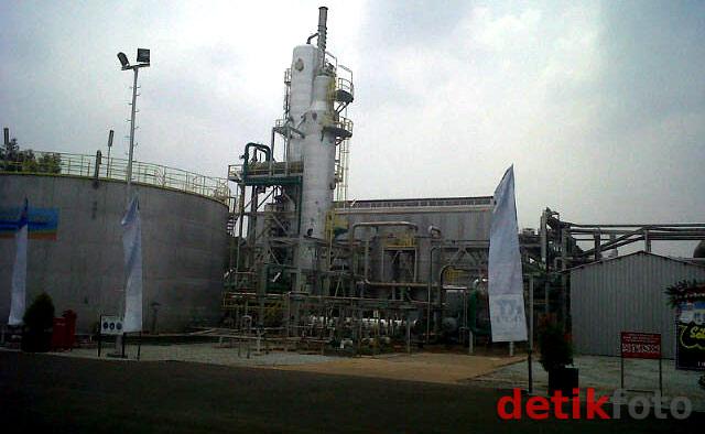 Peresmian Pabrik Bahan Peledak di Cikampek