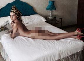 Video Miranda Kerr Bugil di Ranjang Untuk Majalah Harper's Bazaar
