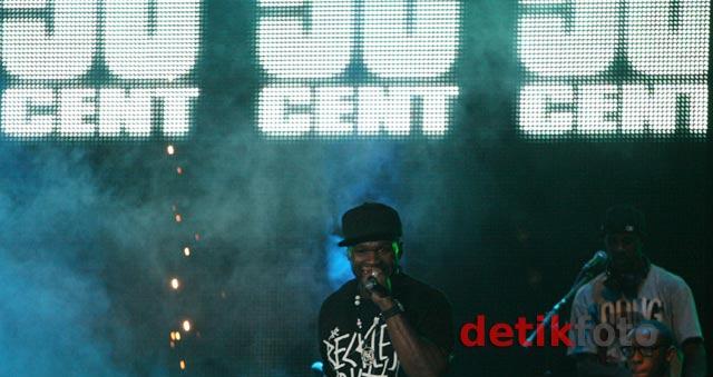 50 Cent Goyang Jakarta