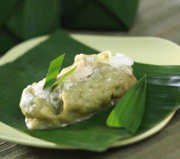 Jongkong Kelapa Muda - Indonesian Cake Recipe
