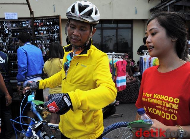 Relawan 7K Kampanyekan Pulau Komodo