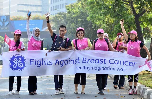 Jalan Bersama Sadar Kanker payudara