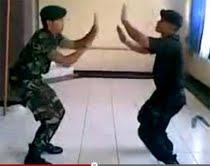 Video Brimob Vs TNI Adu Dance