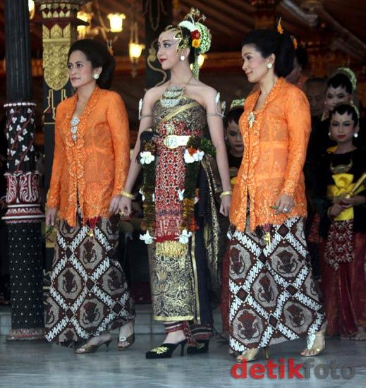 Prosesi Pernikahan Putri Sultan