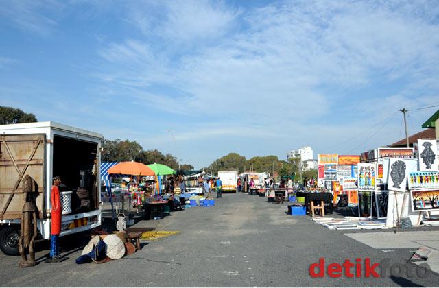 Pasar Kaget di Cape Town Afsel