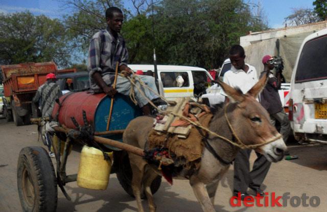 Potret Kota Garissa, Kenya